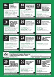Genre et féminismes dans les Amériques latines – Le programme du séminaire 2019-2020