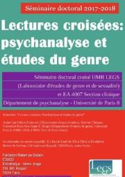 Penser le sexuel entre psychanalyse et études de genre